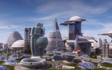 and now? with all this massive technology on our collective vision, what the science fiction look like for our cities in the future