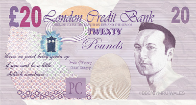 bank note tracked everywhere
