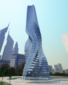 Rotating Tower, Dubai, UAE