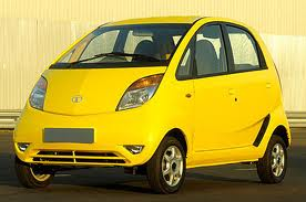 Tata nano-India's cheapest & smallest car & can be most efficient city car in future. It has a size of around L-3099,W-1495&H-1652mm only