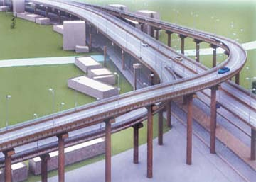 Flyover projects to resume traffic jam