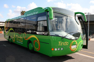 Tindo Solar Bus - The World's First Solar Electric Bus