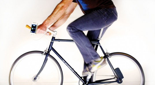 Urban bikers can easily power their devices on the go