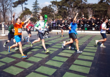 Kinetic Energy-Harvesting Tiles Generate Power from Paris Marathon Runners<br/>