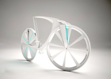 High-Tech Levitation Bike Generates Electricity and Acts as a Mobile Hot-Spot<br/>