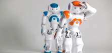 Cool aldebaran robots, with a lot of sensors