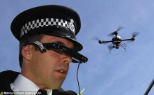 Quadrotor used by police
