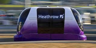 Heathrow's driverless transit system