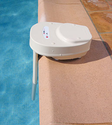 Fall detector for pools