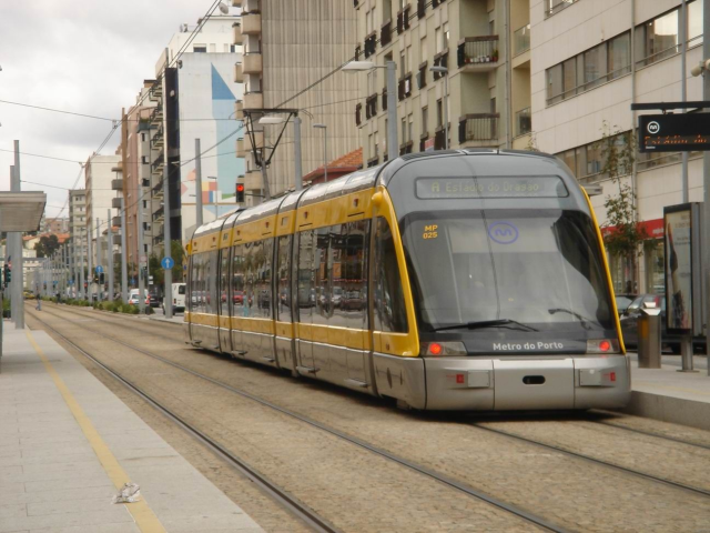 Electric-powered light tram public transportation system - an efficient, clean and comfortable alternative to private transportation.