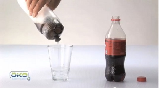 ÖKO's NASA Filtration Bottle can turn soda into drinkable water.