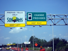Sunpass Florida automatic Toll.