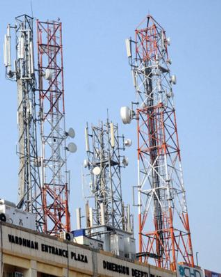 Mobile tower in Dhaka