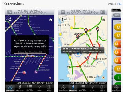Traffic Navigator App