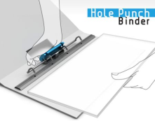 Hole Punch Binder