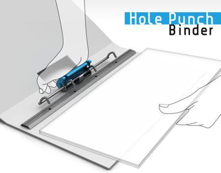 Hole Punch Binder