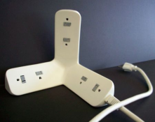 Corner Power Strip