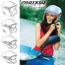 Proteus Foldable Helmet