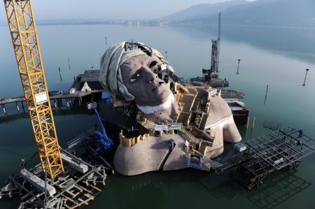 Bregenz's Floating Stage on Lake Constance