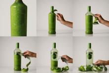 Peelable Smirnoff Bottles