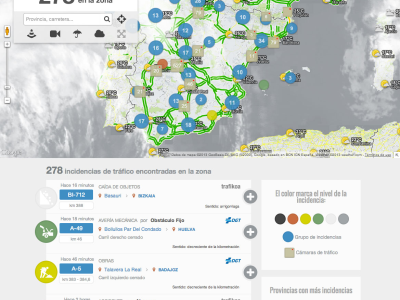 Open data + citizen colaboration = real time traffic information