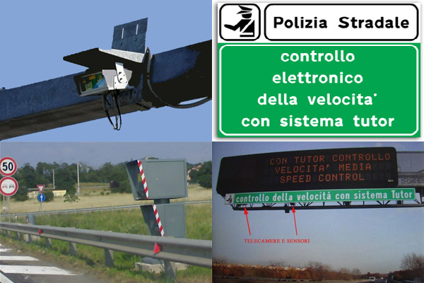 Safety Tutor in Italy, it measure the average speed between 2 points instead of the instant velocity of the vehicle