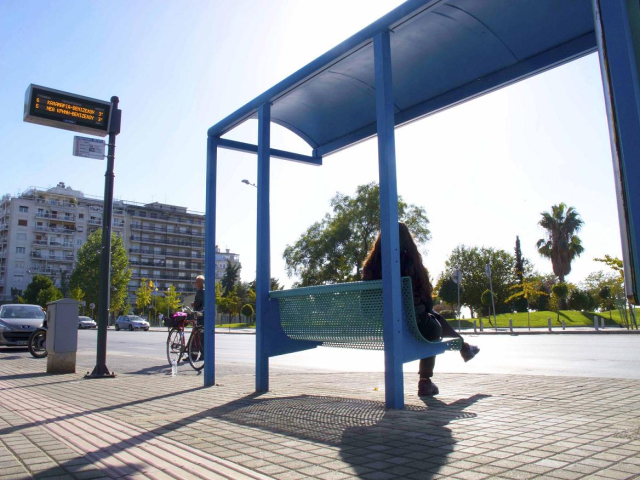 Sensors for informing the citizens about the public transportation's arrival time