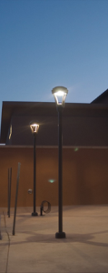Smart outdoor lighting