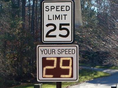 Radar Speed Signs - A Form of Feedback
