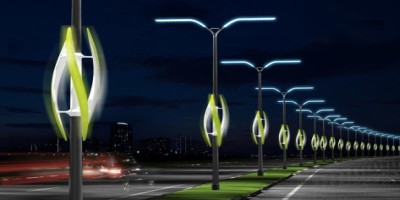 For city lighting we can use sun and wind energy.