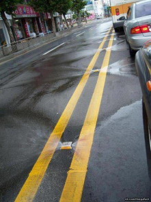 Self-cleaning road in South Korea