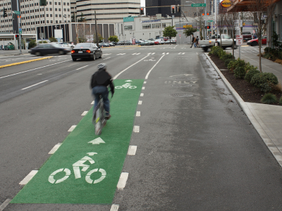 Introducing Bicycle Lanes in all major roads across the city.