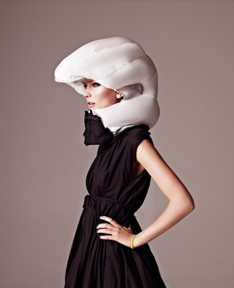 HÖVDING: http://www.hovding.com A Fashionable airbag collar