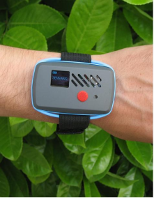 Sensaris Unveils New Technology for Real Time Noise and Air Quality Monitoring over Mobile Internet - miniature wrist worn solution
