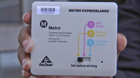 Beginning Nov. 2012, these dashboard devices are detected by sensors & allow for toll road use at different access levels