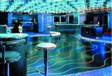 In london, when dancing in this club, the sensors on the floor (where plaques were placed), can generate around 60% of the energy needed