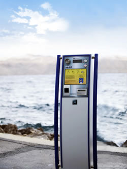 An automatic system for parking fee