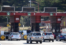 NO WAIT ...using electronic toll pay