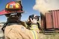 Infrared cameras used for firefighting