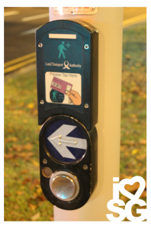 A sensor for senior citizen card for pedestrian crossing which enables longer time for crossing.