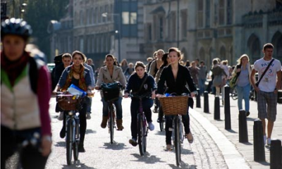 Rise awareness of different ways of transportation (Bikes)