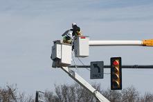 sensor for the traffic light