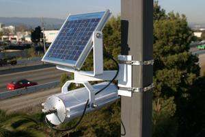 high technology sensor for testing car speed detection