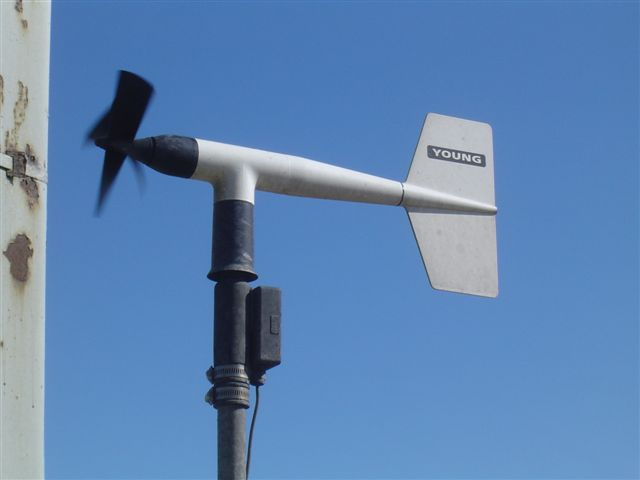 weather sensor for testing weather degree