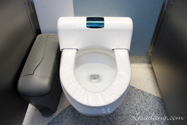 Toilets that automatically change the cover.  They are at Chicago international airport!