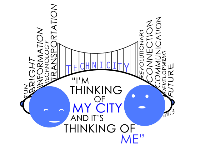I'm thinking of my city and it's thinking of me- Smart City !