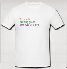 Well... it's simple.  maybe with a drawing of a circuit board that looks like a building or like a city layout.