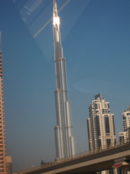 The BURJ KHALIFA!  Are we talking about the tech savvy here!