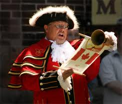 Bring on the Town Crier