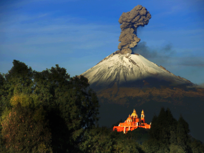 What´s your opinion about a posible volcano explotion in Mexico?